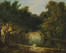 "Картина ""View of the Wilderness in St. James's Park"" художника ""Уилсон Ричард"""