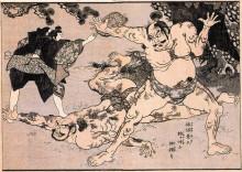 """Картина """"heroes of china and japan"""" художника """"утагава куниёси"""""""