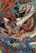 "Картина ""suikoden series"" художника ""утагава куниёси"""