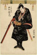 "Репродукция картины ""Nakamura Utaemon"" художника ""Утагава Тоёкуни"""