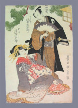 "Картина ""chushingura scene"" художника ""утагава тоёкуни"""