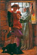 "Картина ""Claudio and Isabella"" художника ""Хант Уильям Холман"""