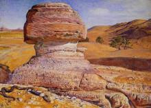 """Картина """"The Sphinx at Gizeh"""" художника """"Хант Уильям Холман"""""""
