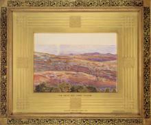 "Картина ""The Dead Sea from Siloam"" художника ""Хант Уильям Холман"""