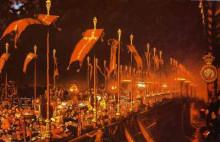 """Картина """"London Bridge on the Night of the Marriage of the Prince and Princess of Wales"""" художника """"Хант Уильям Холман"""""""