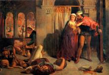 """Репродукция картины """"The Eve of St. Agnes"""" художника """"Хант Уильям Холман"""""""