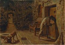 "Репродукция картины ""The Importunate Neighbour"" художника ""Хант Уильям Холман"""