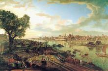 "Картина ""View of Warsaw from Praga"" художника ""Беллотто Бернардо"""
