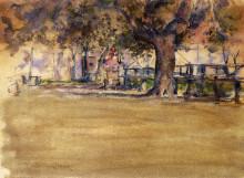 """Копия картины """"In Washington Park, Brooklyn, N.Y."""" художника """"Чейз Уильям Меррит"""""""