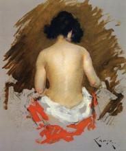 "Картина ""Nude"" художника ""Чейз Уильям Меррит"""
