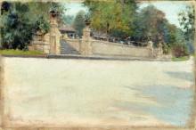 """Копия картины """"Prospect Park, Brooklyn"""" художника """"Чейз Уильям Меррит"""""""