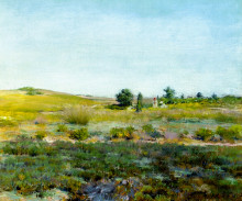 "Копия картины ""Shinnecock Hills, Summer"" художника ""Чейз Уильям Меррит"""