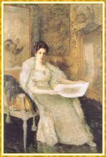 """Копия картины """"Portrait of Susan Watkins"""" художника """"Чейз Уильям Меррит"""""""