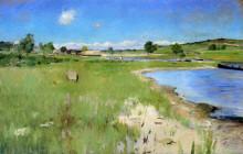 "Репродукция картины ""Shinnecock Hills from Canoe Place, Long Island"" художника ""Чейз Уильям Меррит"""