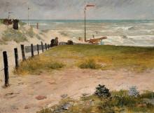 "Копия картины ""The Coast of Holland"" художника ""Чейз Уильям Меррит"""