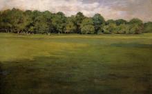 "Картина ""Prospect Park, aka Croquet Lawn Prospect Park"" художника ""Чейз Уильям Меррит"""