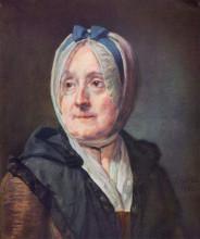 "Копия картины ""Portrait of Françoise Marguerite Pouget"" художника ""Шарден Жан Батист Симеон"""