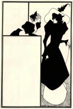 "Копия картины ""Poster advertising 'The Spinster's Scrip'"" художника ""Бёрдслей Обри"""