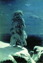 """Копия картины """"На севере диком ..."""" художника """"Шишкин Иван"""""""