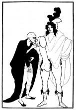 """Копия картины """"The Examination of the Herald"""" художника """"Бёрдслей Обри"""""""