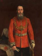 """Репродукция картины """"joshua walmsley radcliffe, mayor of oldham"""" художника """"чарльз джеймс"""""""
