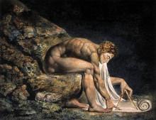 "Картина ""Исаак Ньютон"" художника ""Блейк Уильям"""