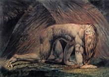 "Копия картины ""Навуходоносор"" художника ""Блейк Уильям"""