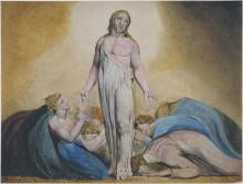 """Картина """"христос является ученикам после воскресения"""" художника """"блейк уильям"""""""